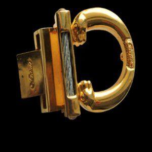 Gold Belt Buckle Cartier Style Women Men Buckle